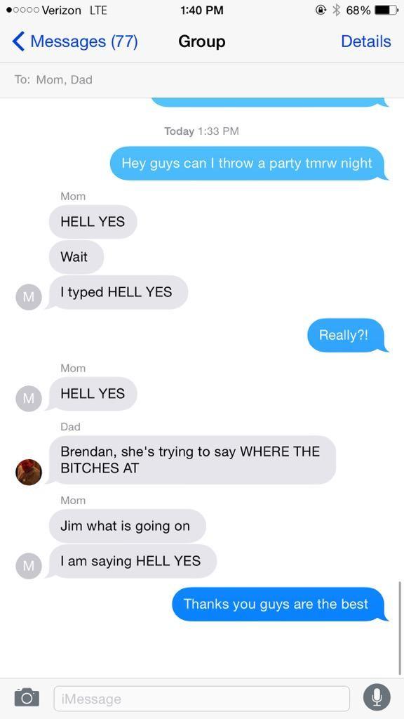 iPhone Text Hack Conversation