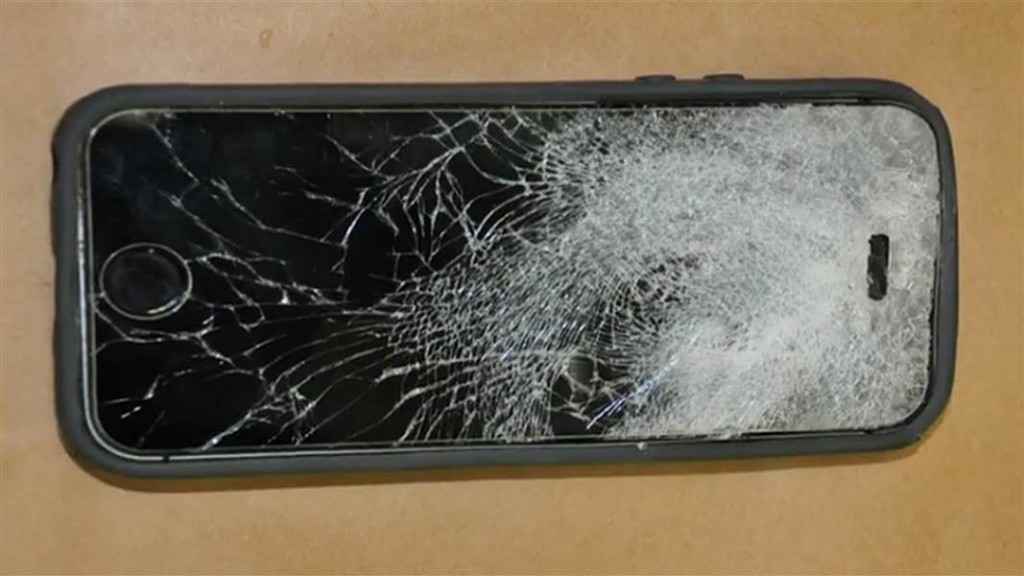 iPhone Saves Man's Life by Stopping a Bullet from Close Range