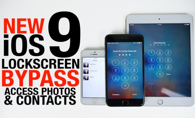 Your iOS 9 Lockscreen Can Be Bypassed in 30 Seconds