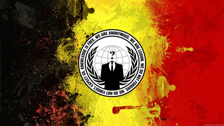 Anonymous Targets Belgian Government, Knocks Prime Minister's Website Off