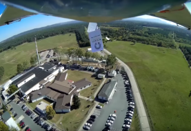 Activists Fly Drone Over NSA complex in Germany, Dropping Pamphlets Against Spying