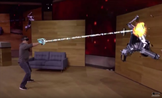 Microsoft Transforms Sci-Fi into Real Life with Wearable HoloLens Kit