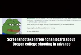 Was Oregon Shooting Predicted on 4chan?