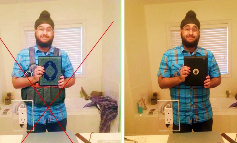 Photoshop Fail: Sikh Man in Canada Smeared as Suspected Paris Terrorist