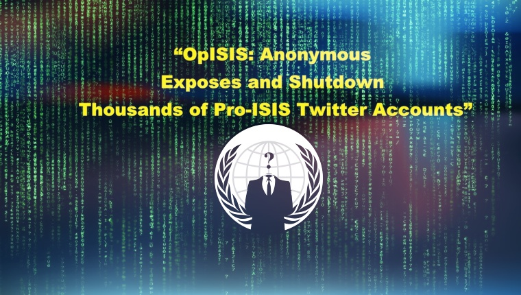 Anonymous Expose and Shutdown 8824 Pro-ISIS Twitter Accounts