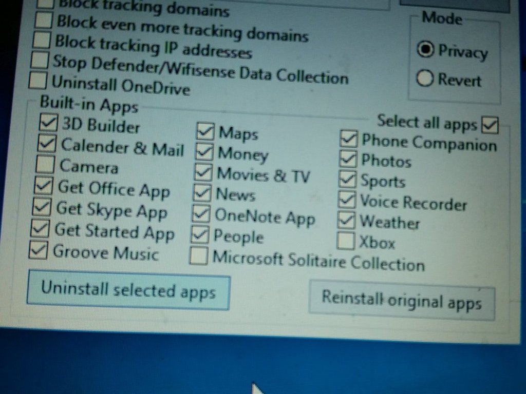 Disabled Intrusive Win10 Data Collection Features Re-enabled After Nov Update