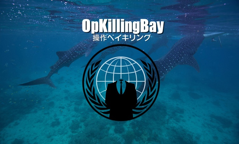 Anonymous Crushes Japan Prime Minister Website Against Whale Hunt