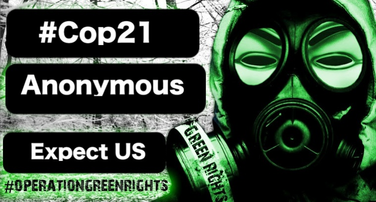 #Cop21: Anonymous Hacks UN Climate Change' Webcast Streaming Service Provider