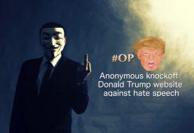 Anonymous Knockoff Donald Trump' Website Against Anti-Muslim Speech