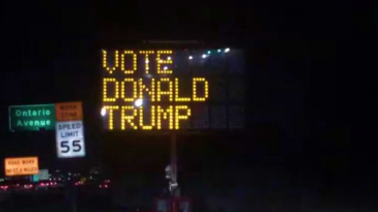 freeway-sign-hacked-for-pro-donald-trump-message