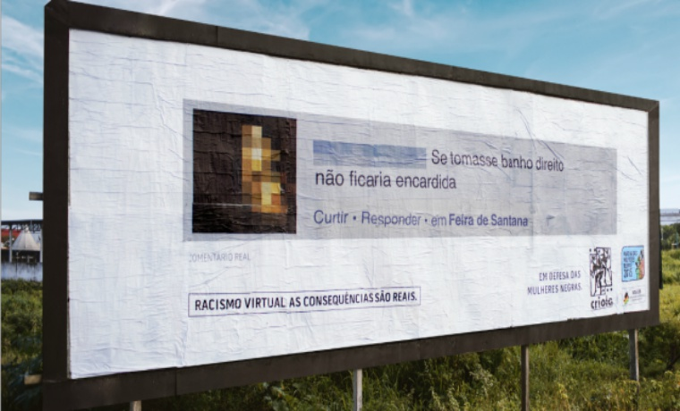 Group Fights and Expose Racist Comments on Billboards