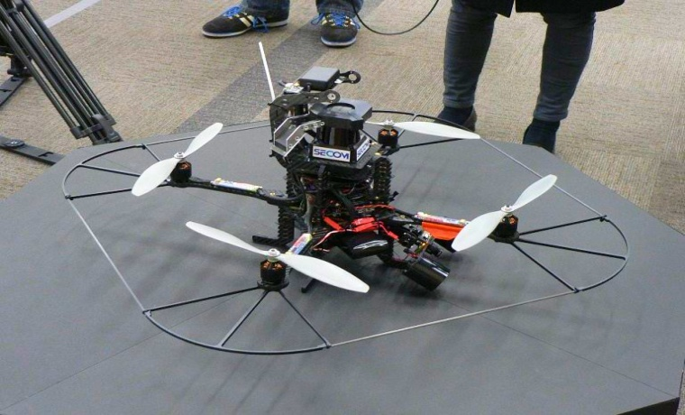 This New Secom Drone Will Hunt The Suspects Down