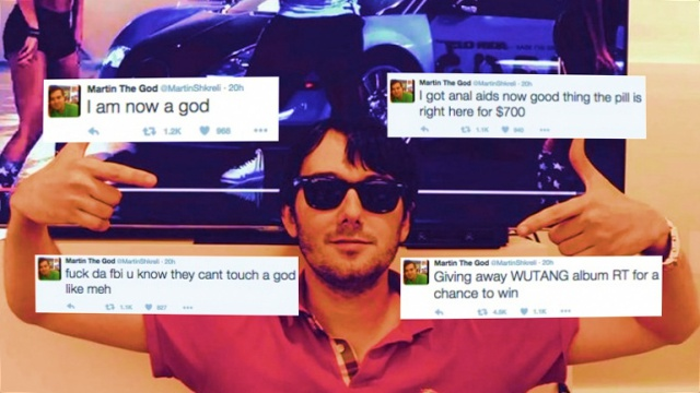 Twitter Account of Pharma CEO Martin Shkreli Hacked