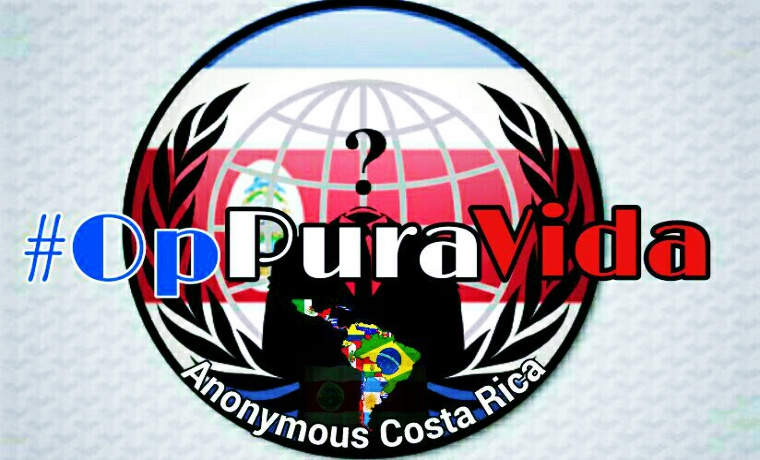 Anonymous Hacks Costa Rica's Ministry Of Foreign Affairs For OpPuraVida