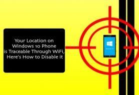 Your Location on Windows 10 Phone is Traceable, Here's How to Disable it