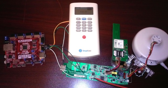 Hacker Shows How To Hack Wireless Burglar Alarm System Like