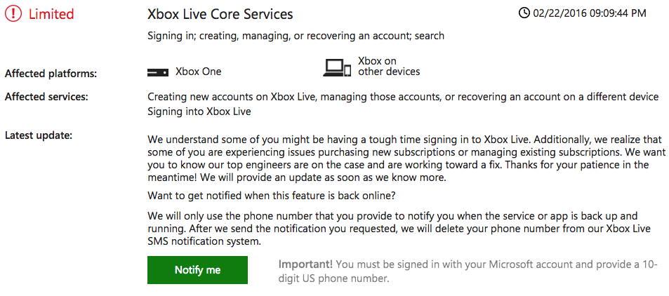 Xbox Live Service is Down Again-3