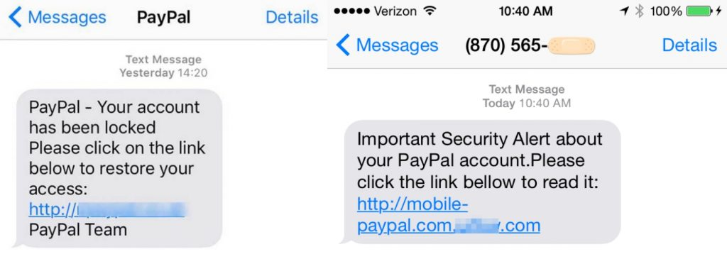 crooks-sending-phishing-links-in-text-messages-to-steal-paypal-account-side