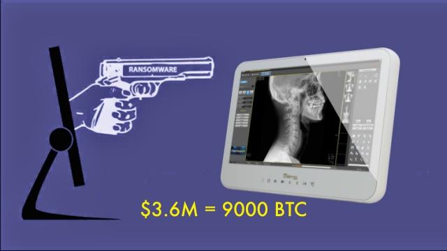 Cybercriminals Hack Hospital PCs Demand Whopping 9000 BTC Ransom