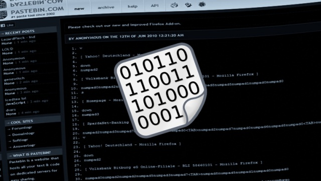 Hackers Target Pastebin com with Powerful DDoS Attack
