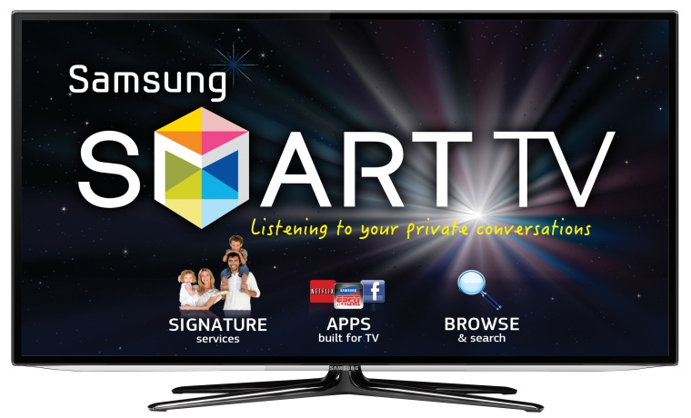 Be careful of what you say in front our Smart TV, warns Samsung
