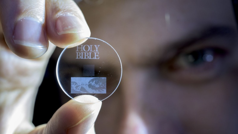 Southampton University Creates 5D Storage Disc That Can Store 360TB Data