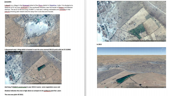 One of the stolen files show data about India's Ladakh waterdamn