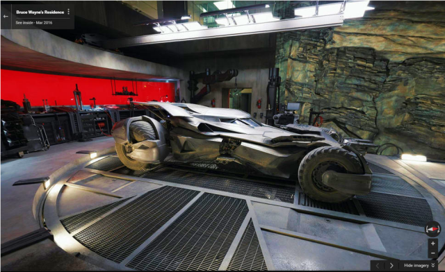 Google Maps reveal Batman's cave and Bruce Wayne's house in 360 degrees