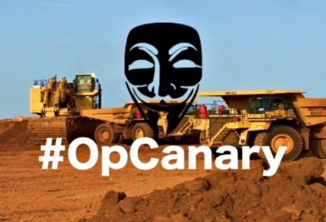 Anonymous Relaunches #OpCanary, Targets Canadian Mining Firm
