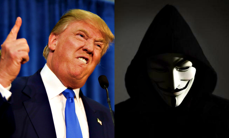 Anonymous Urge Hackers To Join Them in Cyber Attacks Against Donald Trump