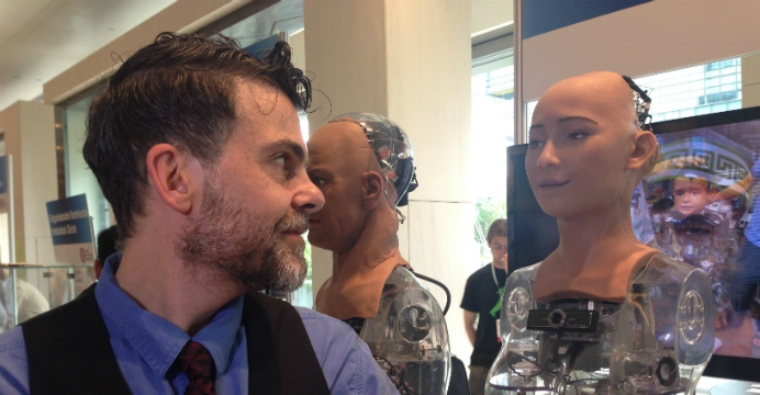 Artificial Intelligence Robot claims it will destroy human race