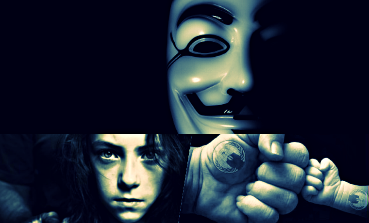 Pedophiles May Be Using Anonymous' Symbolic Mask To Trap Children