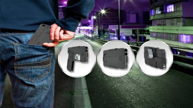 Smartphone Lookalike Gun Coming This Year