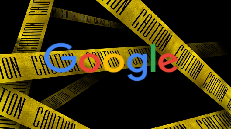 Google marks itself as potentially dangerous website to visit
