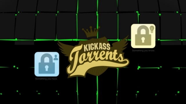 KickassTorrents Becomes First Torrent Site to Introduce Two-Factor Authentication