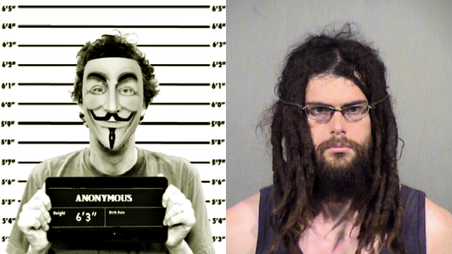 Man arrested for wearing Anonymous mask in Arizona