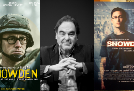 Oliver Stone's Snowden Movie Trailer Released and it's Awesome