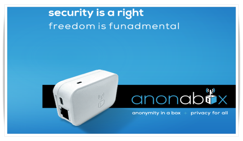 Anonabox' Devices Keep Identity Anonymous Using Tor and VPN