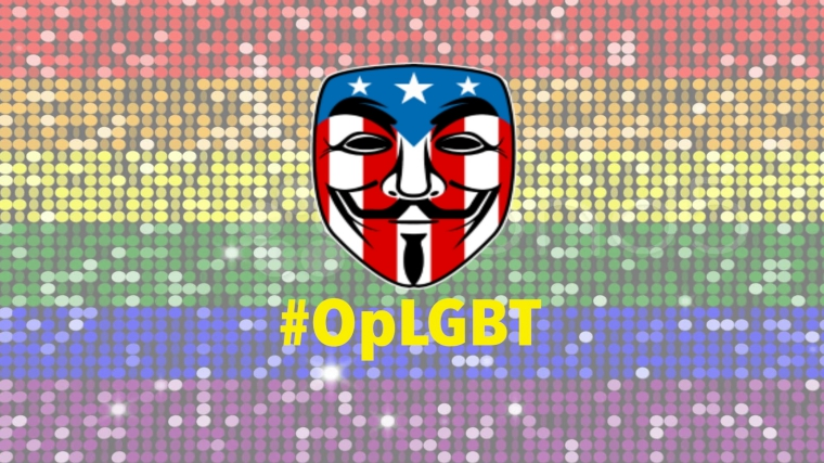 Anonymous Target North Carolina Government Sites Against anti-LGBT Law