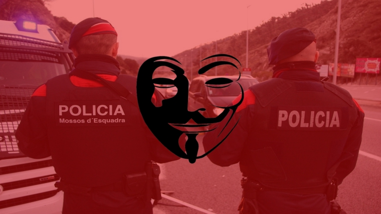 Catalan Police Union Server Destroyed, Data Leaked Against Police Brutality