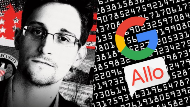 Stay Away from Google's New Messaging App Allo – Alerts Edward Snowden