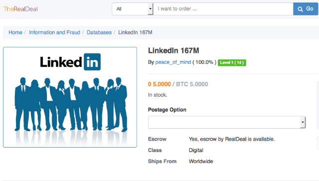 russian-hackers-selling-117-million-linkedin-login-credentials-on-dark-net