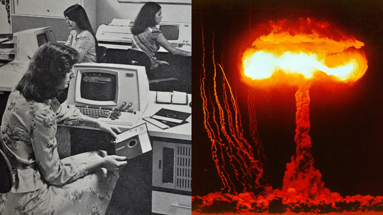 What Controls the US Nuclear Operation? Floppy Disks and Outdated Computers