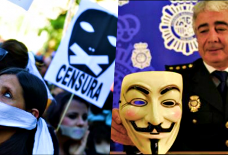 Anonymous Hacks Spanish Police Server, Leaks Data Against Gag Law