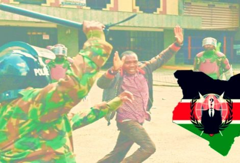 Anonymous Linked Team Hacks Kenyan Oil Firm Against Police Brutality