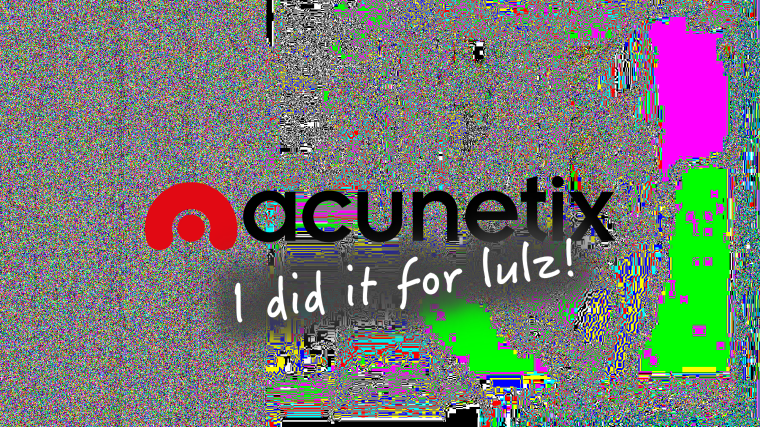 Automated Web Application Scanner Acunetix Website Hacked