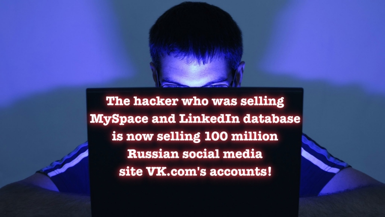 Hacker Selling 100 Million Russian VK.com Login Details on Dark Web