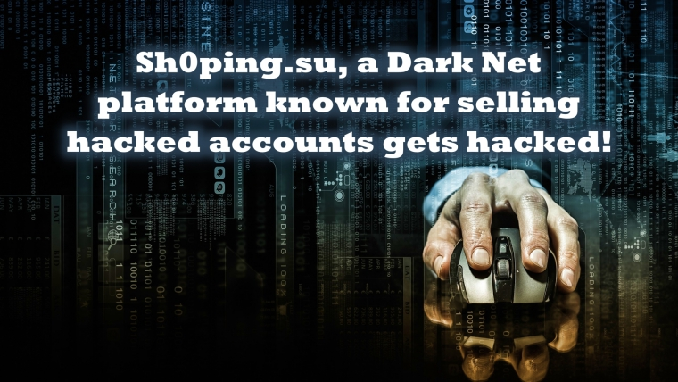 Sh0ping.su Hacked, Thousands of Credit Cards and Accounts Leaked
