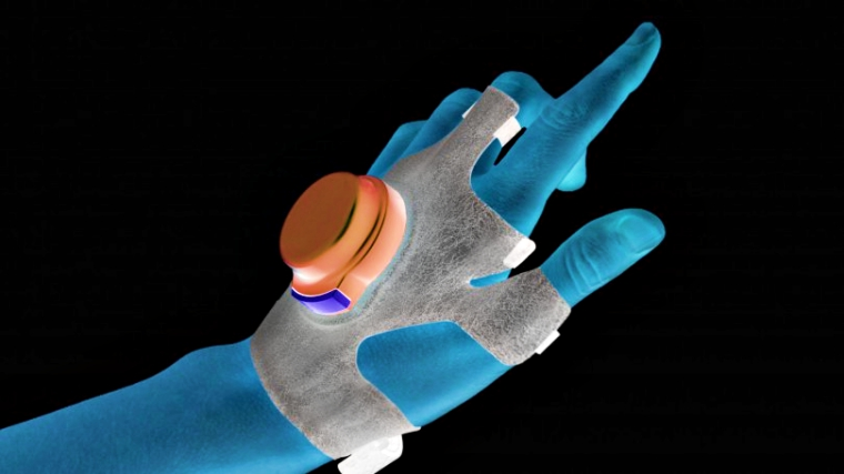 Student creates glove that reduces Parkinson's tremors by 80%
