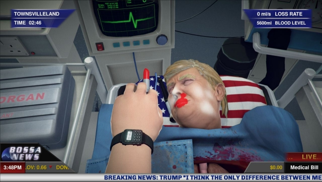 This game lets you operate in and outside Donald Trump